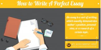 How to Write a Perfect Essay MyAssignment