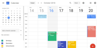 How to activate Dark mode in Google calendar