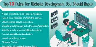 Top 10 Rules For Website Development You Should Know