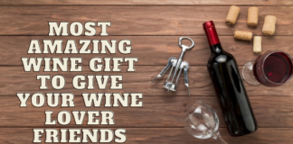 Most Amazing Wine Gift to give your wine lover friends